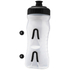 Fabric Cageless Water Bottle (600ml) - Clear/Black: Image 3