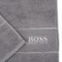 Hugo BOSS Plain Towel Range - Concrete: Image 2