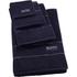 Hugo BOSS Plain Towel Range - Navy: Image 1