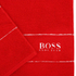 Hugo BOSS Plain Towel Range - Poppy: Image 2