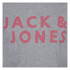 Jack & Jones Men's Core Ready T-Shirt - Light Grey Marl: Image 5