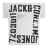 Jack & Jones Men's Core Wall T-Shirt - White: Image 3