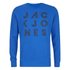 Jack & Jones Men's Core Dylan Crew Neck Sweatshirt - Director Blue: Image 1