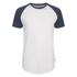 Jack & Jones Men's Originals Stan Raglan Sleeve T-Shirt - Navy/White: Image 1