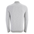 Jack & Jones Men's Originals Lock Baseball Zip Through Sweatshirt - Light Grey Marl: Image 2