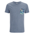 Jack & Jones Men's Originals Bobby Pocket Print T-Shirt - Poseidon: Image 1