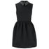 McQ Alexander McQueen Women's Studded Collar Party Dress - Black: Image 1