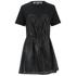 McQ Alexander McQueen Women's Bustier T-Shirt Dress - Black: Image 1