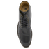 H Shoes by Hudson Men's Seymour Leather Toe Cap Lace Up Boots - Black: Image 3