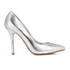 Dune Women's Burst Metallic Court Shoes - Silver: Image 1
