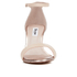 Dune Women's Mariee Leather Barely There Heeled Sandals - Rose Gold: Image 4