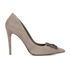 Dune Women's Breanna Suede Court Shoes - Mink: Image 1