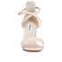 Dune Women's Maybell Leather Block Heeled Sandals - Nude: Image 4