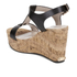 Dune Women's Kier Di Leather Wedged Sandals - Black: Image 4