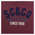 Soul Cal Men's SC&CO Logo Hoody - Tawny Port: Image 3