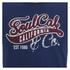 Soul Cal Men's Cracked Print T-Shirt - Navy: Image 3