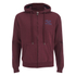 Soul Cal Men's Sleeve Print Logo Zip Through Hoody - Tawny Port: Image 1