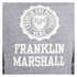 Franklin & Marshall Men's Big Logo Hoody - Sport Grey Melange: Image 3