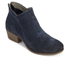 H Shoes by Hudson Women's Apisi Suede Heeled Ankle Boots - Navy: Image 2