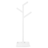 Wireworks Gloss White Towel Rail Branch: Image 1