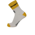 Santini Lotto Jumbo 16 Coolmax Socks - Black/Yellow: Image 3