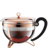 Bodum Chambord Copper Plated Teapot: Image 1