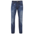 Jack & Jones Originals Men's Mike Straight Fit Jeans - Mid Wash: Image 1
