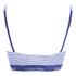 Calvin Klein Women's CK Cotton Millenial Stripe Bralette - Navy: Image 2