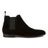 HUGO Men's Pariss Suede Chelsea Boots - Black: Image 1