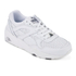 Puma Men's R698 Core Leather Trainers - White/Steel Grey: Image 2