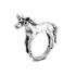 Cheap Monday Women's Unicorn Mini Ring - Burnished Silver: Image 1