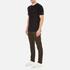 Carhartt Men's Short Sleeve Base T-Shirt - Black/White: Image 4