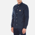 Carhartt Men's Long Sleeve Tony Shirt - Navy Rigid: Image 2