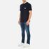 Carhartt Men's Short Sleeve Slate Pocket T-Shirt - Navy: Image 4