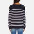 ONLY Women's Mila Stripe Long Sleeve Top - Night Sky: Image 3