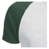 Brave Soul Men's Baptist Raglan Sleeve T-Shirt - Ecru/Bottle Green: Image 3