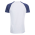 Brave Soul Men's Baptist Raglan Sleeve T-Shirt - White/Ink Blue: Image 2