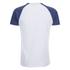 Brave Soul Men's Baptist Raglan Sleeve T-Shirt - White/Ink Blue: Image 2