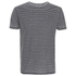 Threadbare Men's Helsinki Burnout Stripe T-Shirt - Grey: Image 1
