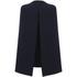 Lavish Alice Women's Split Back Cape Dress - Navy: Image 4