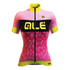 Alé PRR Women's Bubbles Short Sleeve Jersey - Pink/Purple: Image 1