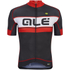 Alé PRR Bermuda Short Sleeve Jersey - Black/Red: Image 1