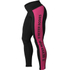 Better Bodies Women's Side Panel Tights - Black/Pink: Image 1