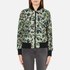 Converse Women's All Star Core Reversible MA-1 Bomber Jacket - Herbal: Image 7