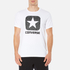 Converse Men's All Star Shield Reflective Rain Box Star T-Shirt - White: Image 1