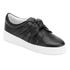 Senso Women's Annie Front Bow Leather Slip On Trainers - Ebony: Image 2