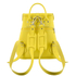 Grafea Women's Sunny Fur Pom Backpack - Yellow: Image 4
