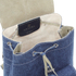 Grafea Women's Denim Small Backpack  - Denim: Image 5