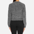 Carven Women's Leather Pocket Front Jumper - Black/White: Image 3