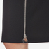 Carven Women's Full Zip Pencil Skirt - Black: Image 5